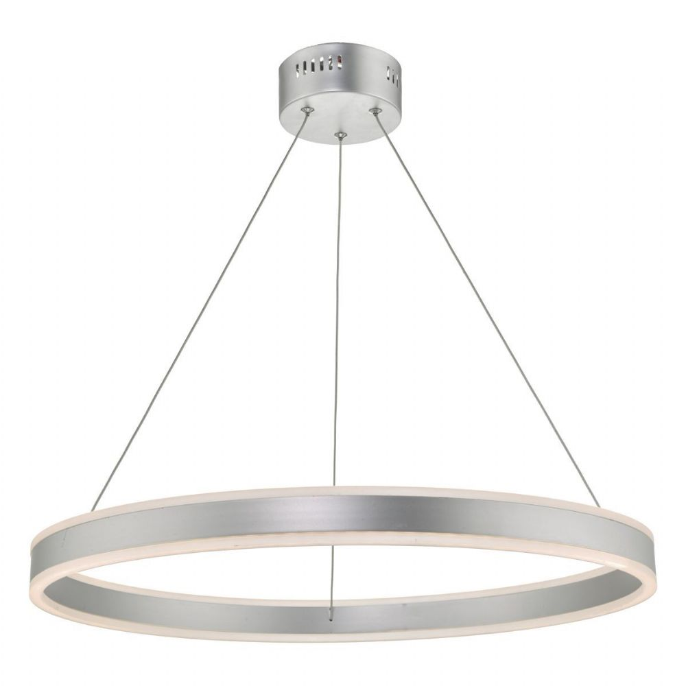 Tybalt Pendant Silver & Acrylic LED (double insulated) BXTYB0132-17